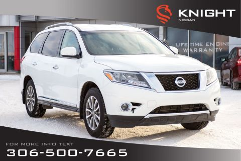 Pre-Owned 2014 Nissan Pathfinder SL | Leather | Heated Seats & Steering Wheel | 3rd Row Seating |