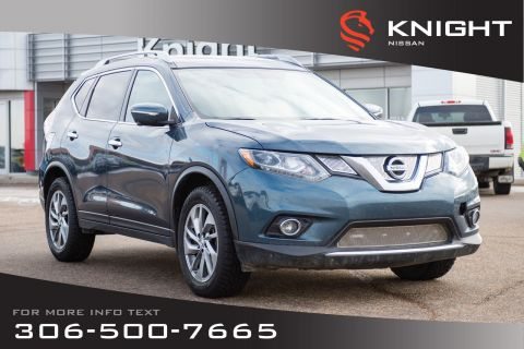 Pre-Owned 2014 Nissan Rogue SL | Leather | Heated Seats | Navigation |