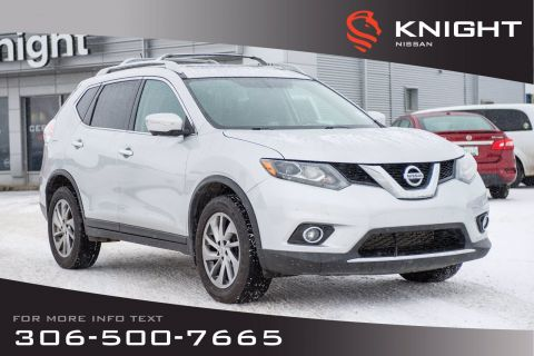 Pre-Owned 2014 Nissan Rogue SL | Leather | Navigation | Heated Seats |