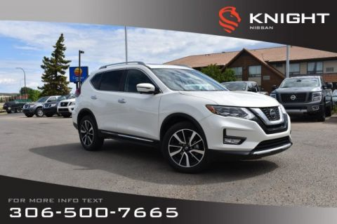 New 2018 Nissan Rogue SL Platinum | Leather | Navigation | Remote Start | Heated Seats & Steering Wheel | Bose |