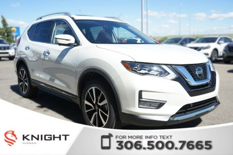 New 2018 Nissan Rogue SL Platinum Leather | Navigation | Remote Start | Heated Seats & Steering Wheel | Bose |