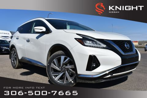 New 2019 Nissan Murano SL | Leather | Navigation | Remote Start | Around View Monitor | Heated Seats & Steering Wheel |