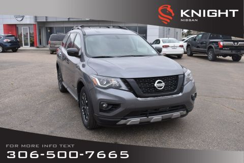 New 2019 Nissan Pathfinder SV Rock Creek | Tech Pkg | Leather | Navigation | Remote Start | Heated Seats & Steering Wheel |