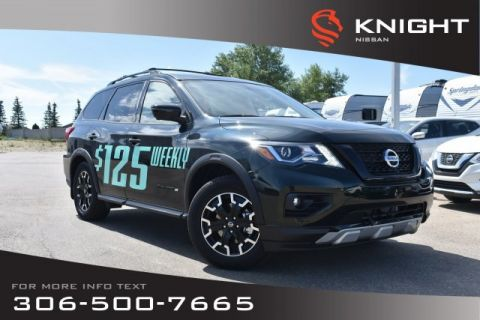 New 2019 Nissan Pathfinder SL Rock Creek | Premium Pkg | Leather | Navigation | Remote Start | Heated Seats & Steering Wheel |