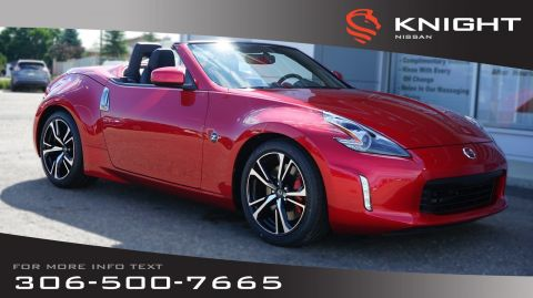 New 2019 Nissan 370Z Roadster Touring Sport | Leather | Heated & Cooled Seats | Navigation