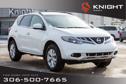 Pre-Owned 2014 Nissan Murano S | Keyless Entry & Start | Cruise | Low KMs |